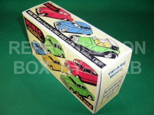 Minic #60M Double Decker Bus - Reproduction Box